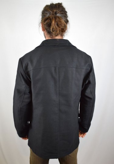 Herrenjacke Deutschleder Schwarz | Jacken | Things for men