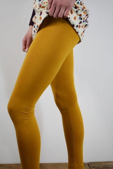 Leggings Bio High Rise - gelb