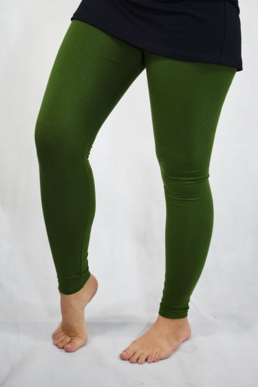 Leggings High Rise - grün
