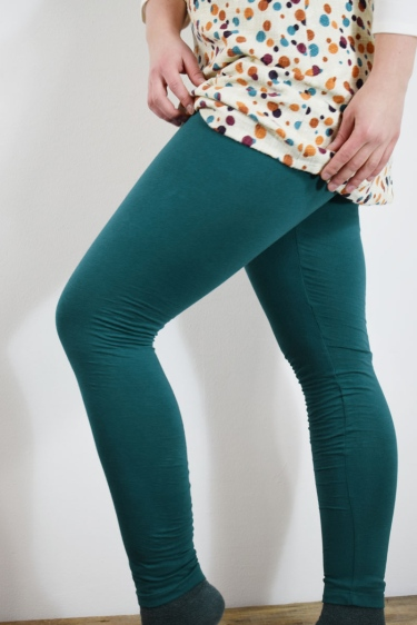 Leggings High Rise - petrol